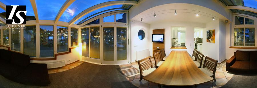 Atrium Wohnraum